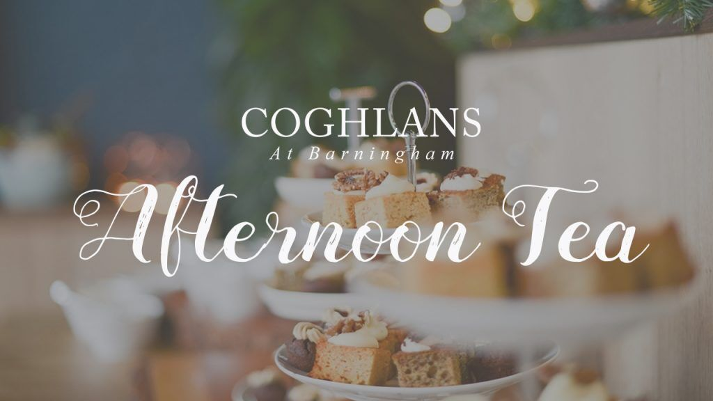 Afternoon tea at Coghlans Classical Tea Room